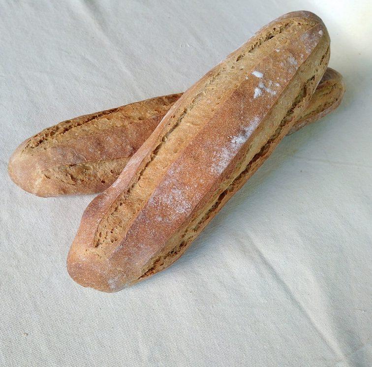 Pain complet blés anciens Au Petit Fournil de Valérie 66