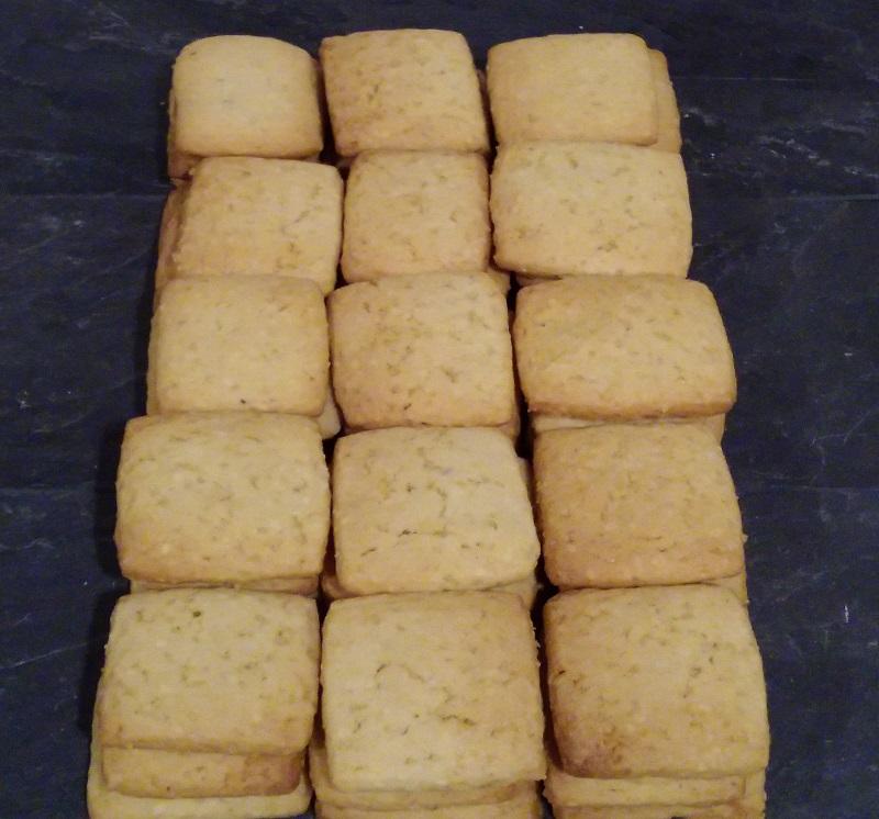 Biscuit sablé aux noisettes grillées à Baho 66