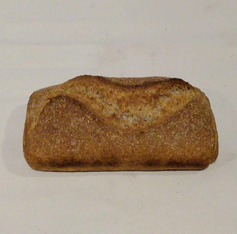 Pain artisanal au blé complet Au Petit Fournil de Valérie 66