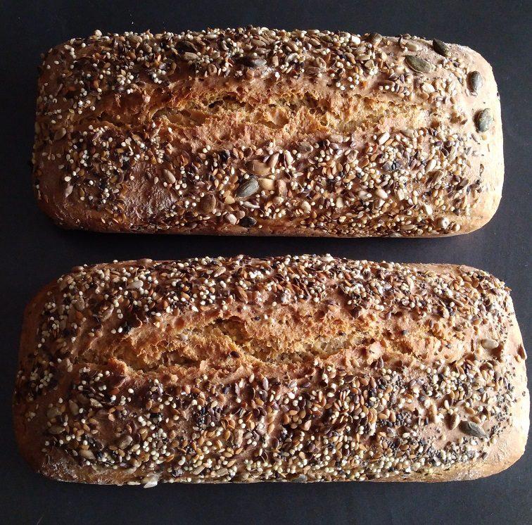 pain petit épautre aux 8 graines Au Petit Fournil de Valérie