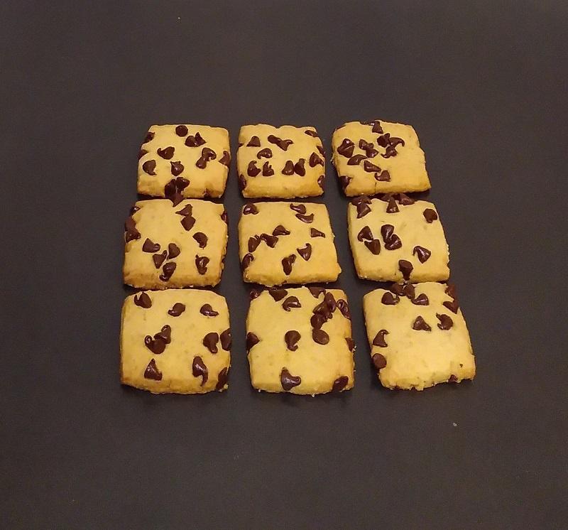 APFV sablé noisettes grillées pépites de chocolat noir